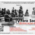 CESMECA invita al IV Foro Social sobre las Democracias Otras