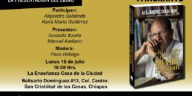 Presentarán en Chiapas libro autobiográfico del padre y activista Alejandro Solalinde
