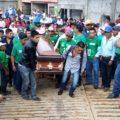 Entierran a activista del Verde, lo mataron los de Mover a Chiapas, acusan