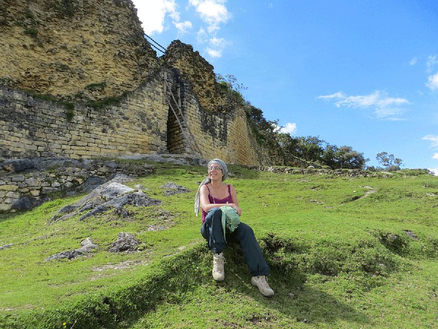 The fortress of Kuelap, Peru. 2015