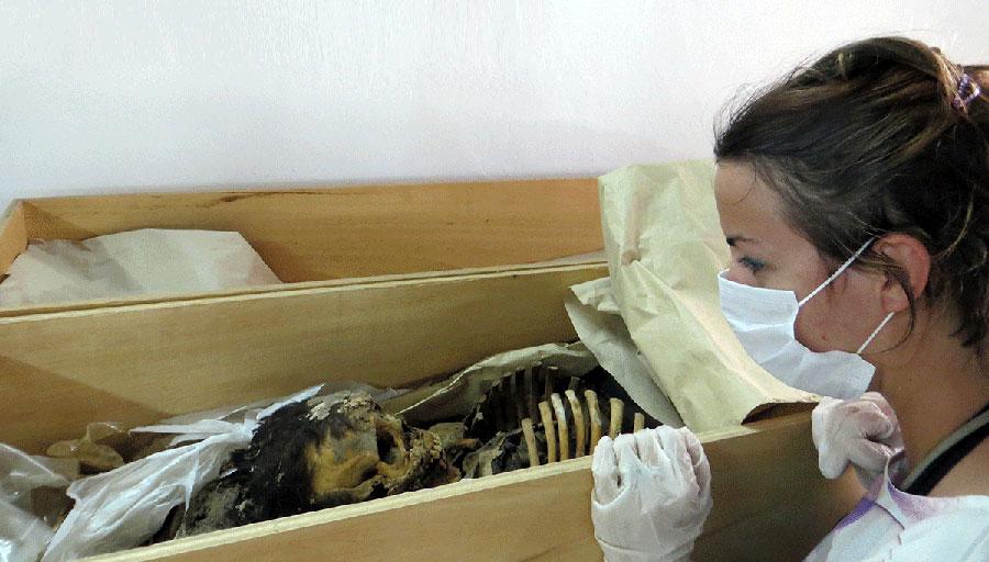 Chotuna-Chornancap archaeological site, Peru