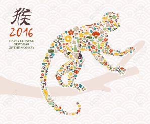Capodanno cinese 2016: anno della scimmia