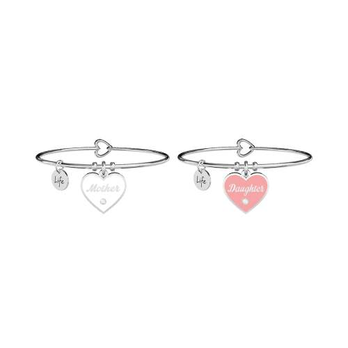 Bracciali con ciondolo Mother e Daughter Amore infinito Kidult