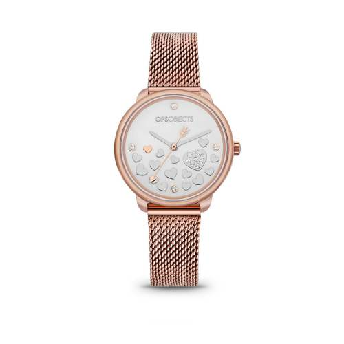 Orologio Ops Objects Rosé