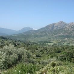 La vue de la vallée