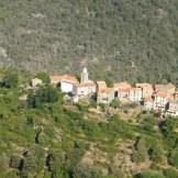 Village de Soccia vu de la route