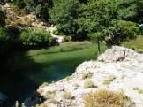 Une belle vasque dans les gorges de Speloncato