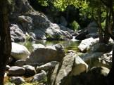 Dans les gorges de Speloncato