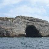 Une grotte à Boninfacio