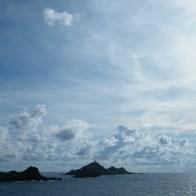 Les îles Sanguinaires au mois de septembre