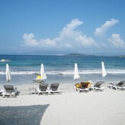 Un déjeuner en bord de plage