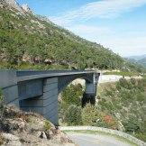 Un pont entre Venaco et Vivario.