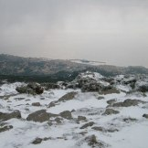 Bastia sous la neige.