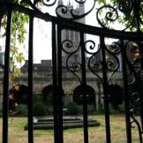 Un jardin dans l'abbaye