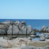 Les rochers sont taillés par le vent