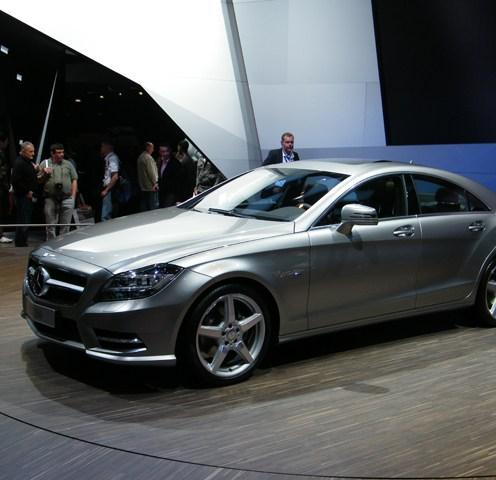Nouvelle Mercedes CLS