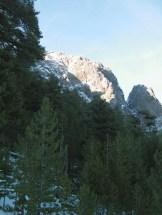 Les montagnes à Asco