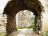 Un petit tunnel sous les habitations