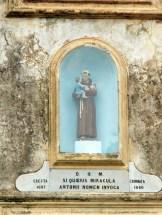 Saint-Antoine au dessus de la porte du couvent