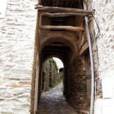 Entrée dans les ruelles de Barrigioni