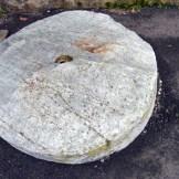 Dernière roue croisée à l'arrivée au hameau de Moline