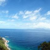 Vue sur les îles Sanguinaires depuis la tour