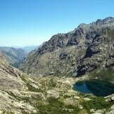Le lac de Melo et la vallée de la Restonica