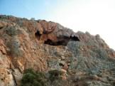 Les rochers sont torturés