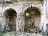 Les autels à l'intérieur