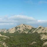 Panorama au sommet de la cima Forca