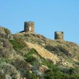 Les deux moulins à Bocca di Serra