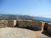 En direction de Tizzano depuis le toit de la tour