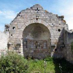 L'intérieur de l'église San Ghjuvanni