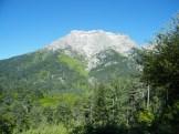 Vue sur le Monte d'Oro