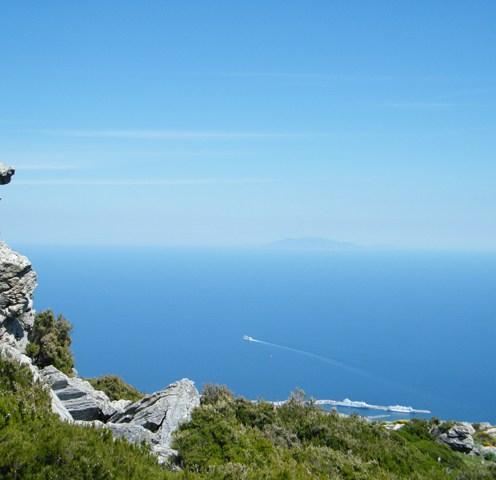 Vue sur les îles toscanes
