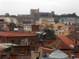 Au loin le palais des rois de Majorque