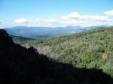 Au retour, panorama sur le Taravu