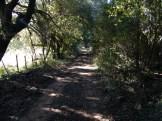 La piste avant la bergerie