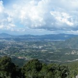 Panorama sur le golfe d'Ajaccio