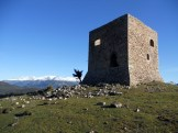 La tour du Monte Albanu