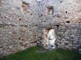 À l'intérieur du château de Supietra