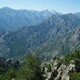 Vue sur la vallée du Tavignanu