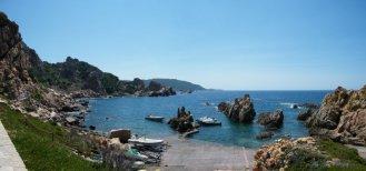 Arrivée à la Costa Paradiso...