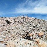 Plus que quelques mètres pour le sommet