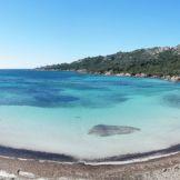 La plage de Paragan