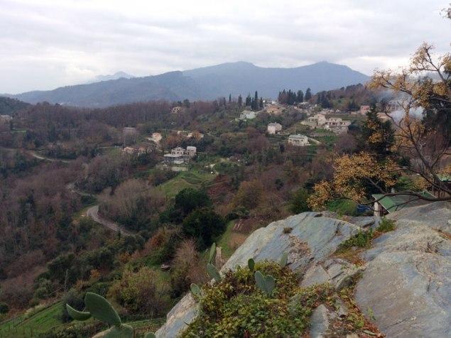 Vue depuis Penta di Casinca