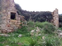 Un hameau en ruines