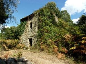 Les restes d'un hameau