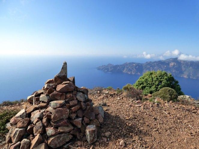 Au sommet du Monte Senino