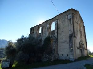 L'église ruinée de Zigliara